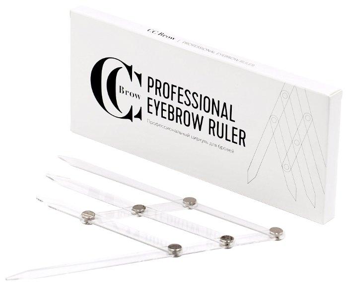 Циркуль для бровей CC Brow Professional Eyebrow Ruler