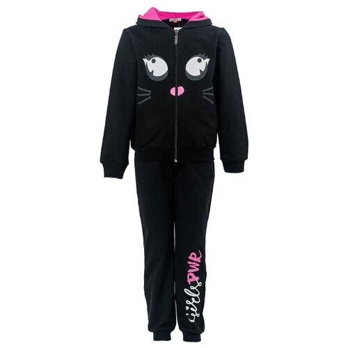 Спортивный костюм Elaria размер 104, чёрныйСпортивные костюмы<br>