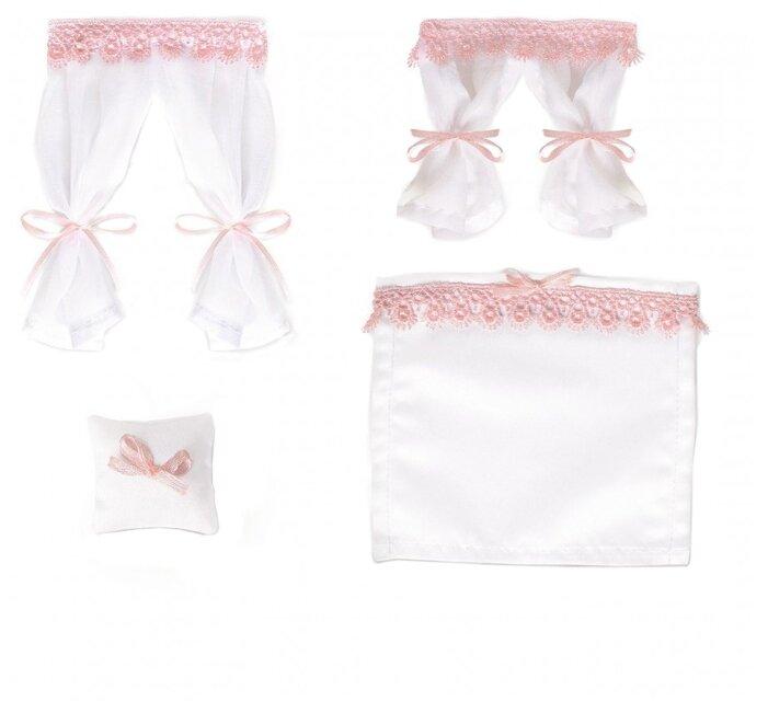 Набор текстиля для интерьера ЯиГрушка Бело-розовый зефир (59645-3)