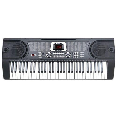 Синтезатор Tesler KB-6130 черный