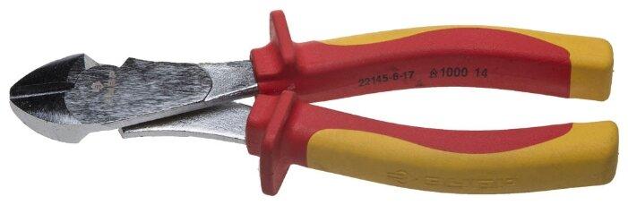 Бокорезы ЗУБР Профи электрик (22145-6-17) 170 мм