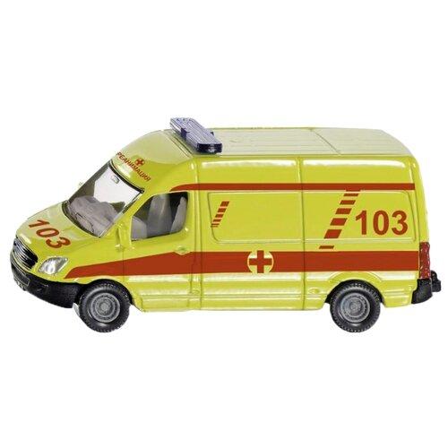 Фото - Набор машин Siku 1819RUS 1:55 белый/желтый/красный набор машин siku паром для