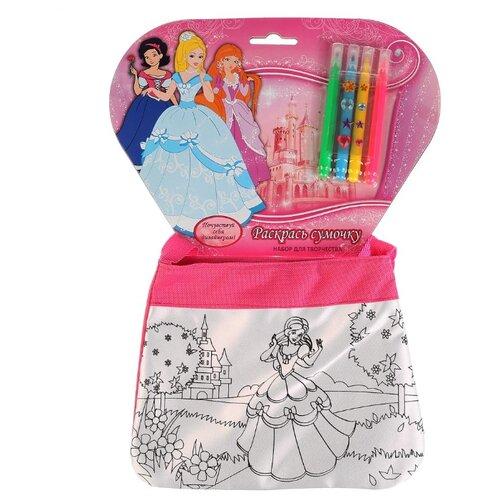 MultiArt Набор для росписи сумки Принцессы (ST-1506-PR)Роспись предметов<br>