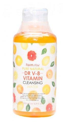 Farmstay вода очищающая с витаминами