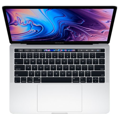 Купить Ноутбук Apple MacBook Pro 13 with Retina display and Touch Bar Mid 2018 (Intel Core i5 2300 MHz/13.3 /2560x1600/8GB/512GB SSD/DVD нет/Intel Iris Plus Graphics 655/Wi-Fi/Bluetooth/macOS) MR9V2RU/A серебристый