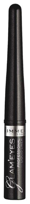 Rimmel Жидкая подводка для глаз Glam eyes Professional Liquid Liner