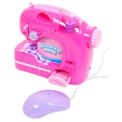 Швейная машина ABtoys Помогаю маме PT-00229 розовый ролевые игры abtoys помогаю маме швейная машинка