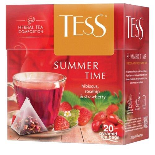Чайный напиток красный Tess Summer time в пирамидках, 20 шт.Чай<br>