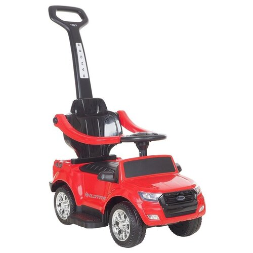 Каталка-толокар RiverToys Автомобиль-каталка Ford Ranger DK-P01-P red детские ходунки 306а красные rivertoys