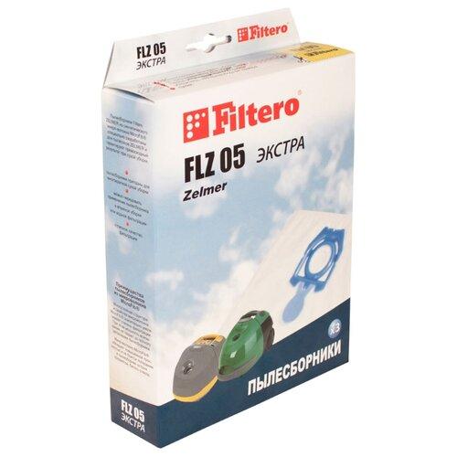 Filtero Мешки-пылесборники FLZ 05 Экстра 3 шт.Аксессуары для пылесосов<br>