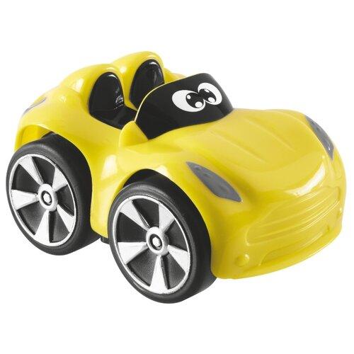 Купить Машинка Chicco Turbo Touch Yuri (00009360000000) 9 см желтый, Машинки и техника