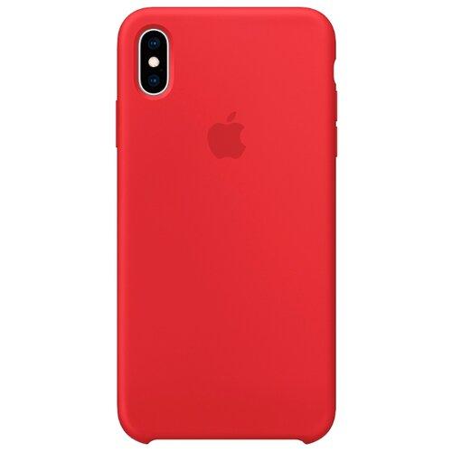 Купить Чехол Apple силиконовый для iPhone XS Max (PRODUCT)RED