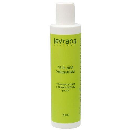 Levrana гель для умывания Тонизирующий с лемонграссом, 200 мл гель для ежедневного умывания cleanmat 225 мл premium home work
