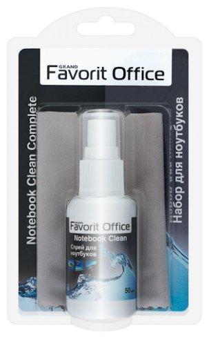 Набор Favorit Office Notebook Clean Complete чистящий спрей+сухая салфетка для ноутбука