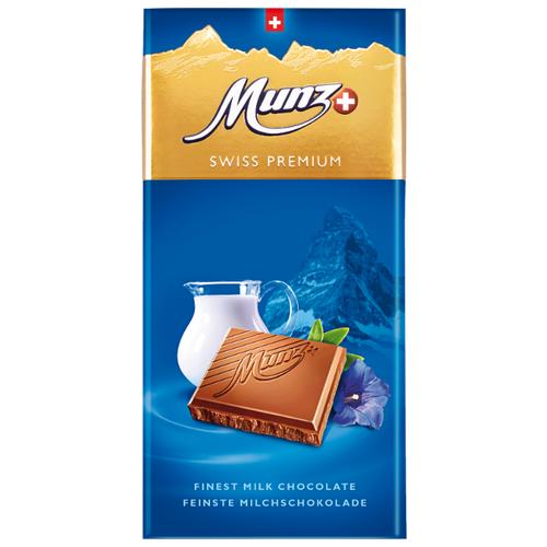 Шоколад Munz молочный, 100 г сандалии thomas munz thomas munz mp002xw0rao9