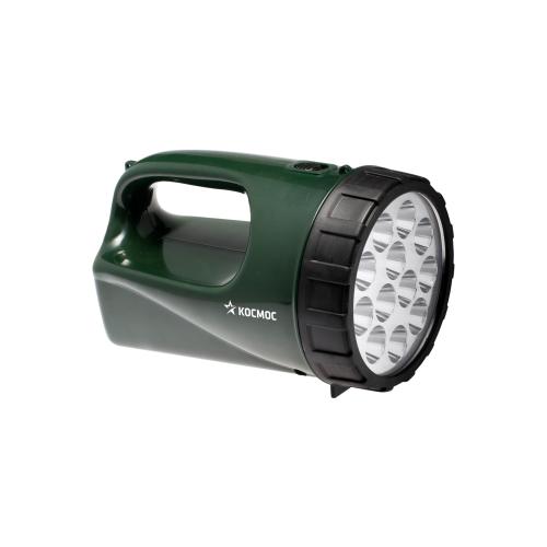 Ручной фонарь КОСМОС Accu9199 LED зеленый