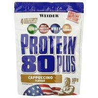 Протеин Weider Protein 80+ (500 г) капучино