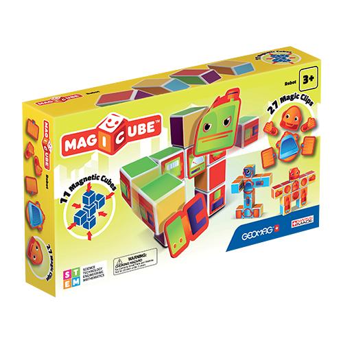 Магнитный конструктор GEOMAG Magicube 142-11 Роботы, Конструкторы  - купить со скидкой