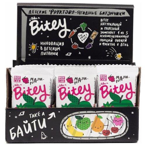 Фруктовый батончик Bitey Box без сахара Яблоко-малина, 30 шт батончик мюсли диyes яблоко без сахара 25 г