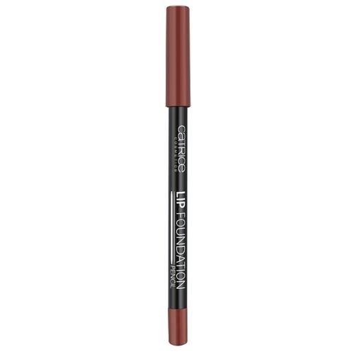 CATRICE Контур для губ Lip Foundation Pencil 050 Cool Brown! catrice контур для губ lip glow lip pencil тон 010 прозрачный
