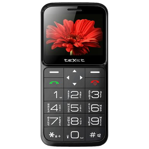 Телефон teXet ТМ-В226 черный телефон