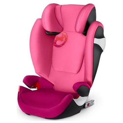 Автокресло группа 2/3 (15-36 кг) Cybex Solution M-Fix, Passion pink child car safety seat cybex solution m fix sl 2 3 15 36 kg 3 up to 12 years isofix chair baby car seat kidstravel group 2 3