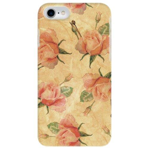 Чехол Mitya Veselkov IP7.MITYA-013 для Apple iPhone 7/iPhone 8 нежные розы обложка для паспорта кожаная mitya veselkov мишки на велике с шариками