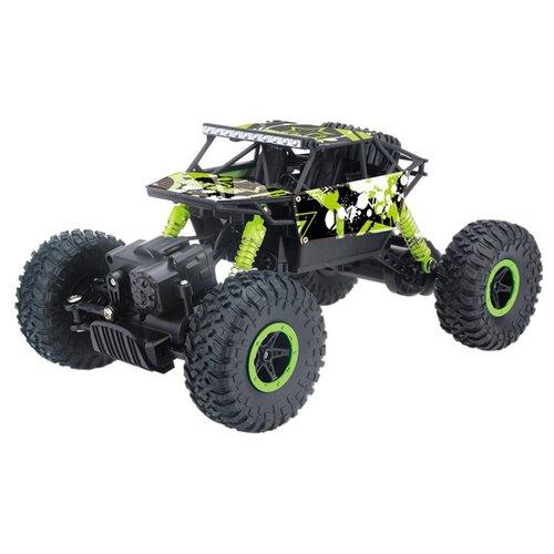 Купить Внедорожник Mioshi Tech Мегатрак (MTE1201-125) 1:18 27.5 см зеленый/черный, Радиоуправляемые игрушки