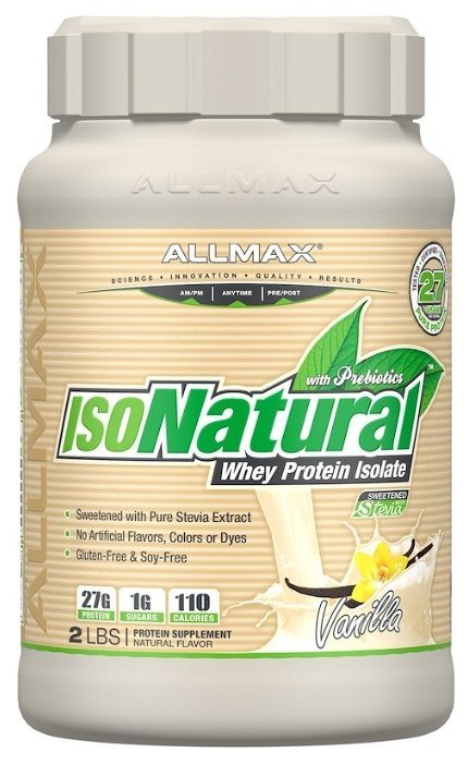 Протеин ALLMAX IsoNatural (907 г)