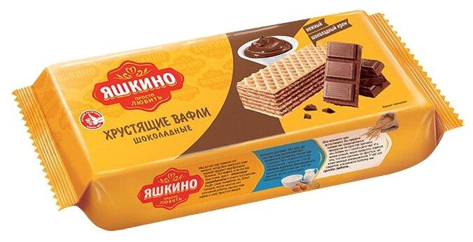 Вафли Яшкино шоколадные, 300г