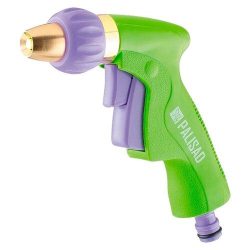 Фото - Пистолет для полива PALISAD 65252 соединитель для полива palisad латунный быстросъемный аквастоп 66265