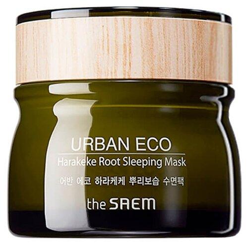 The Saem ночная маска Urban Eco с экстрактом новозеландского льна, 80 млМаски<br>