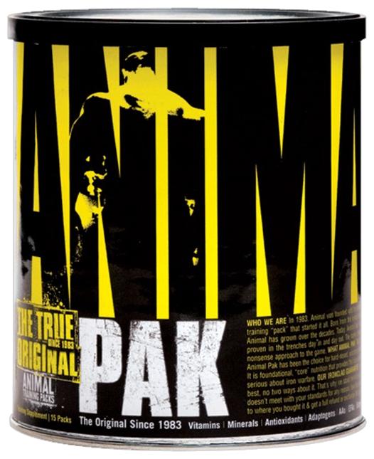 Минерально-витаминный комплекс Universal Nutrition Animal Pak (15 пакетиков)