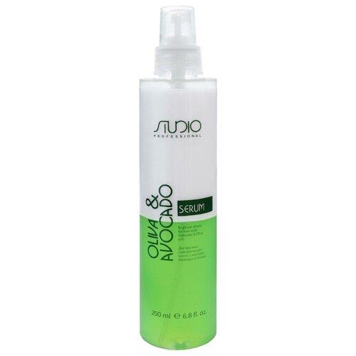 Kapous Professional Oliva & Avocado Двухфазная сыворотка для волос с маслами Авокадо и Оливы, 200 млМаски и сыворотки<br>