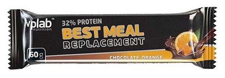 VP Laboratory протеиновый батончик 32% Best Meal Replacement (60 г)(1 шт.)