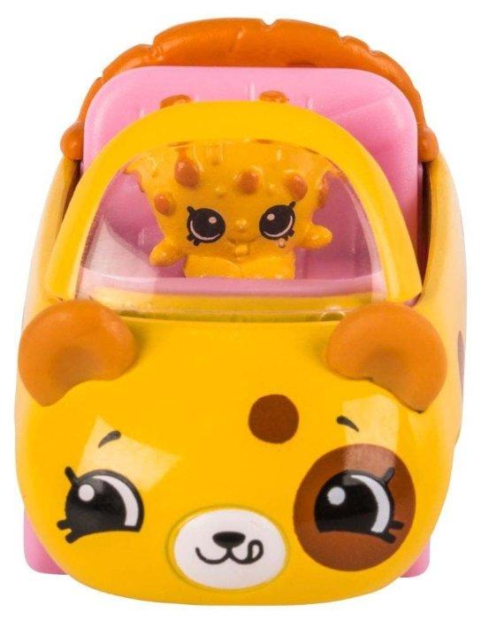 Игровой набор Moose Cutie Car с фигуркой Shopkins Choc Chip Racer 56581