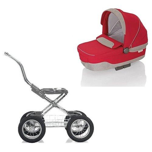 Купить Коляска для новорожденных Inglesina Sofia (шасси Comfort Chrome) luna red, Коляски