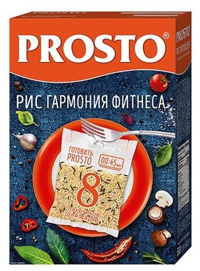 Рисовая смесь PROSTO Гармония Фитнеса (бурый, дикий) 500 г