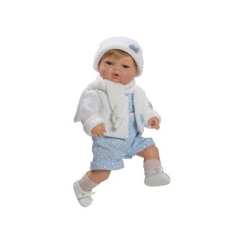 Пупс Munecas Berbesa Raul Lloron, 42 см, 4309, Куклы и пупсы  - купить со скидкой