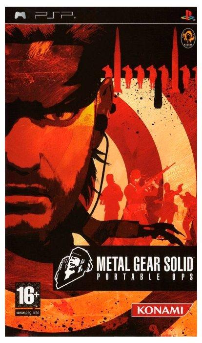 Konami Metal Gear Solid: Portable Ops