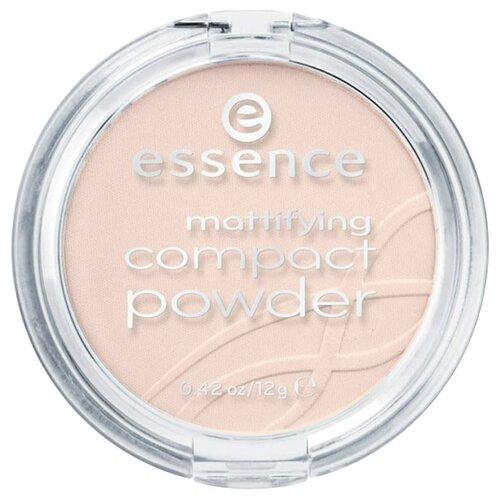 Essence пудра компактная матирующая Mattifying Compact Powder 10 light beige недорого