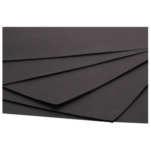 Купить Цветной картон крашенный в массе 1, 25 мм, 880 гр/м2 Decoriton, 20х20 см, 5 л., Цветная бумага и картон
