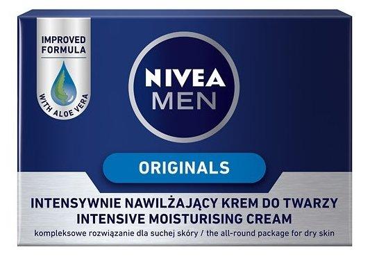 Nivea Крем для лица интенсивный увлажняющий Originals Nivea Men