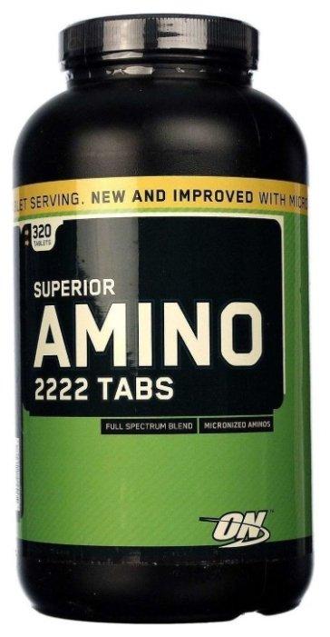 Аминокислотный комплекс Optimum Nutrition Superior Amino 2222 (320 таблеток)