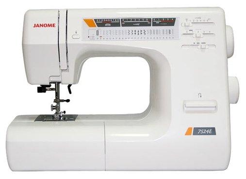 Швейная машина Janome 7524E (жесткий чехол)