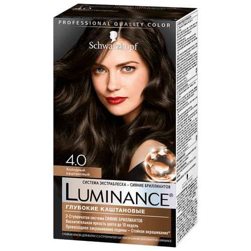 Schwarzkopf Luminance Глубокие каштановые Стойкая краска для волос, 4.0, Холодный каштановыйКраска<br>