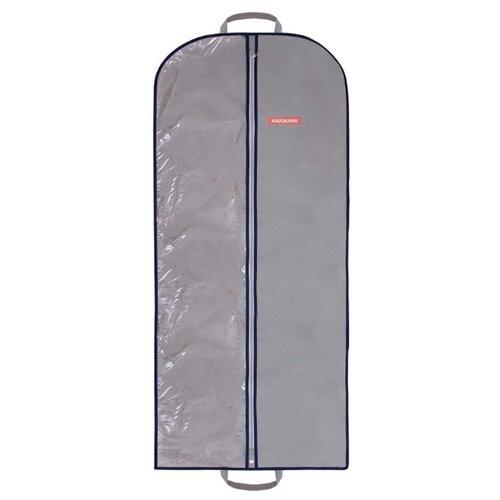 HAUSMANN Чехол для одежды HM-701402 60x140 см серый