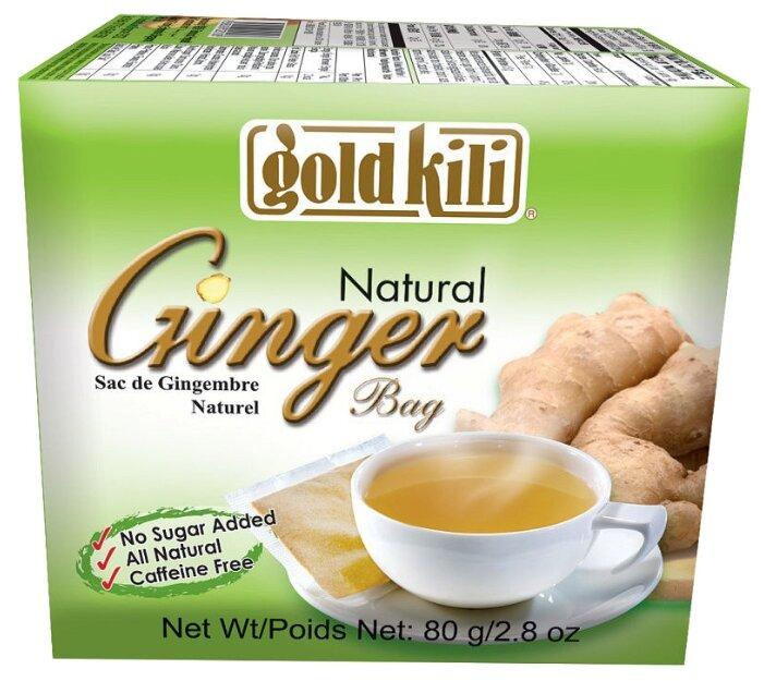 Чайный напиток травяной Gold kili Ginger в пакетиках