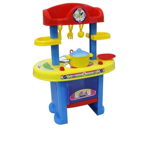 Купить Кухня Palau Toys BU-BU №5 42446/44891 красный/синий/желтый, Детские кухни и бытовая техника