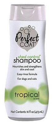 Шампунь 8in1 для собак PC Shed Control против линьки с тропическим ароматом, 473мл